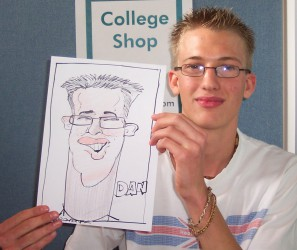 Hire a caricaturist for functions