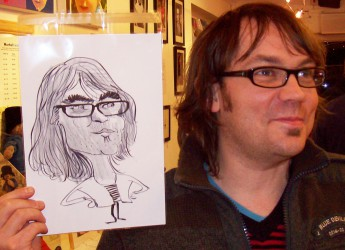 Hire a caricaturist for launch parties
