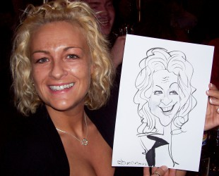Hire a caricaturist for birthday parties