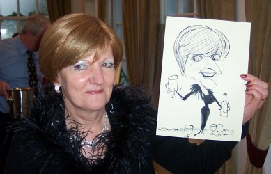 Caricaturist for hire for parties