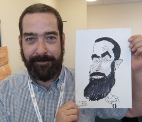 caricatures for live events London Essex hertfordshire