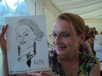 event caricatures weddings trade shows parties