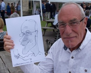 caricaturist weddings parties corporate exhibitions