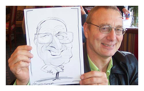 Example Caricature for a corporate event