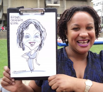 caricaturist weddings parties