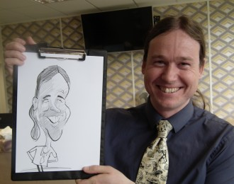 caricaturist  weddings parties exhibitions