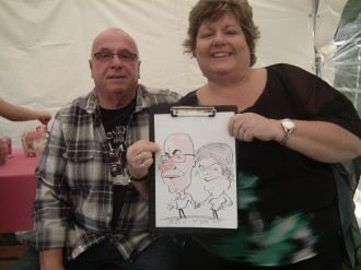 Caricaturist for hire Essex London Kent Sussex Herts