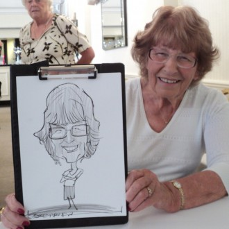 Hire a caricaturist for your wedding