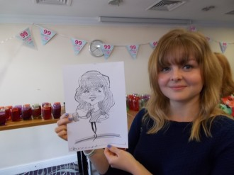 caricaturist for hire London south East