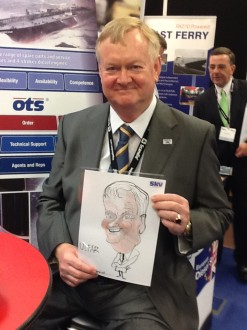 caricaturist for hire corporate events