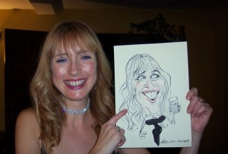 caricaturist for hire essex london hampshire