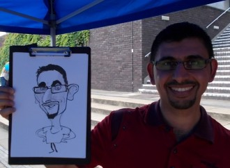 caricaturist for hire essex london