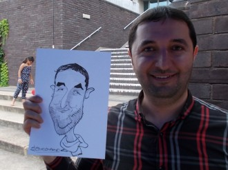 caricaturist for hire essex
