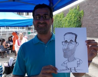 caricatursi for hire weddings events parties