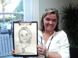 caricaturist for hire essex london parties