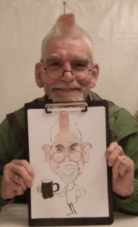 caricaturist for hire Essex Herts Sussex London