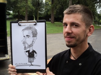 Caricaturist for hire